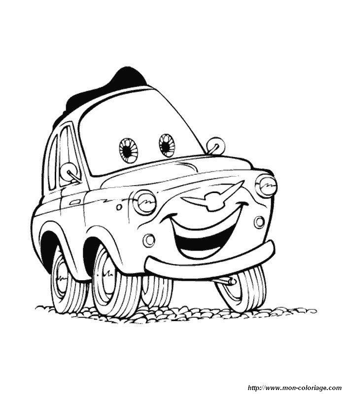 Ausmalbilder Cars 3 Calendar June