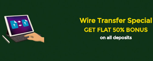 Wire Transfer Special Bonus at Classic Rummy - Best Rummy Site