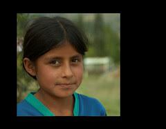 Retratos de Latinoamérica IV - Niña índígena (Venezuela)