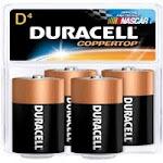 Duracell Alkaline Batteries Mn1300R4, Size: D - 4 Ea