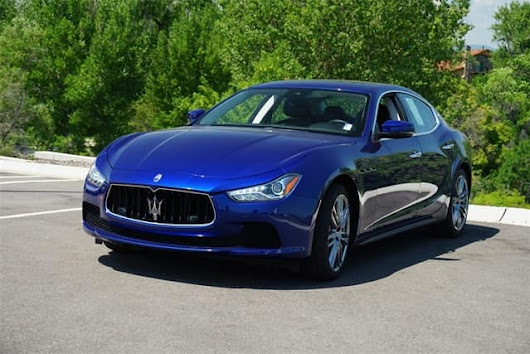 Certified Pre-Owned 2017 Maserati Ghibli S Q4 luxury sedan for sale