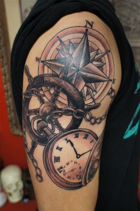 nautical tattoo images pictures  designs