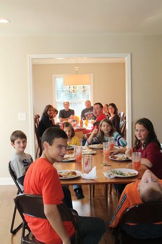 The Kiley family Thanksgiving