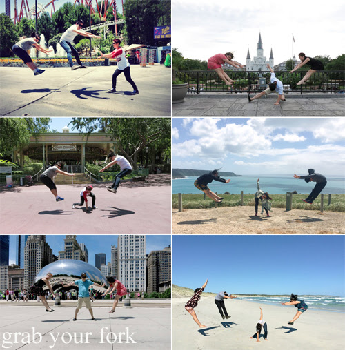 Hadouken and Dragon Ball Z-ing in LA, New Orleans, Chicago and Kangaroo Island