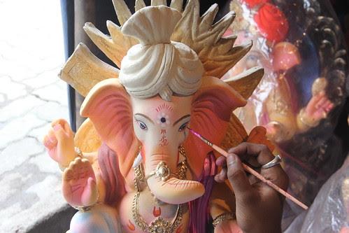 Ganesh Workshops Ganesh Gully Lalbagh 2013 by firoze shakir photographerno1