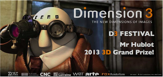 Dimension3 Festival Announces the Award Winners of its 2013 Competition | 3Droundabout
