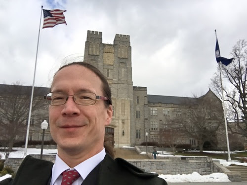 Joining the Electrical and Computer Engineering Faculty at Virginia Tech - Kendall Giles