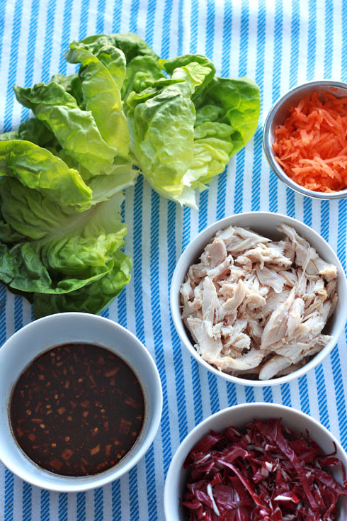 asian chicken lettuce wraps 2