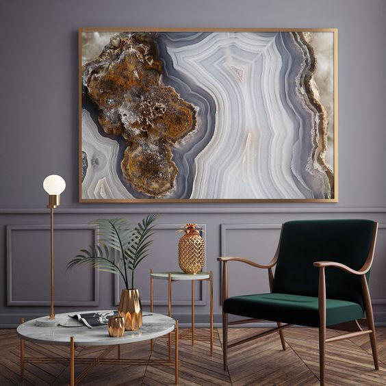Trendy Agate And Geode Home Decor Ideas Digsdigs