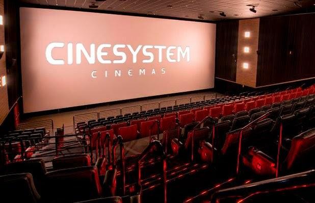 Programação da Rede Cinesystem Cinemas