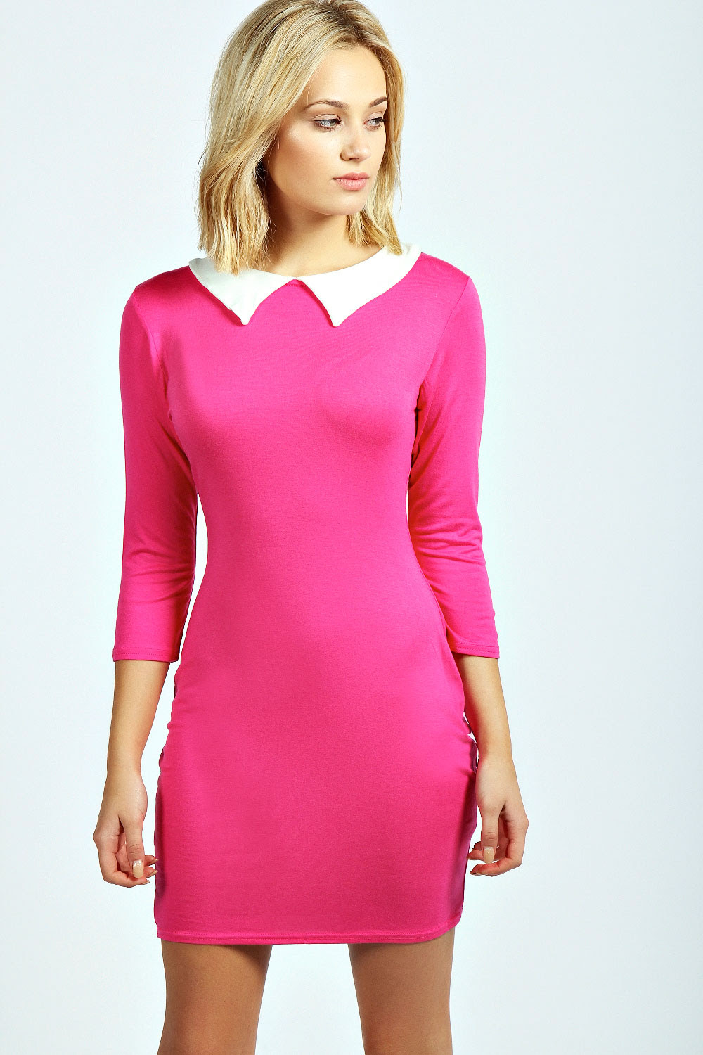 Bodycon dress with hip dip sleeves kitchen rental