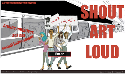 "Shout Art Loud: A ""living report"" on art and sexual violence in Egypt - Index on Censorship 