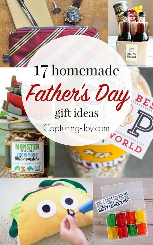 17 Homemade Father's Day Gifts
