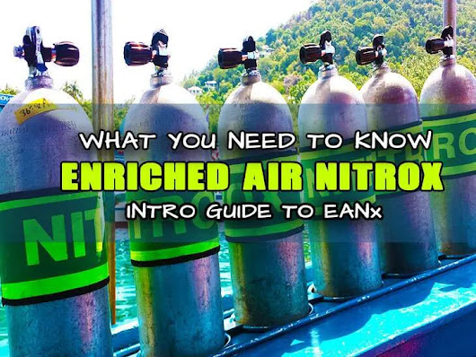 About Nitrox Diving - Info & Advice - PATTAYA DIVE CENTRE