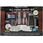 Art 101 Platinum All Media Artist Set with Wood Case 154 Pieces