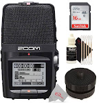 Zoom H2n ext 2-Input / 4 Track Handy Digital Audio Stereo Recorder with GHS-1 Hot/Cold Shoe Mount Kit