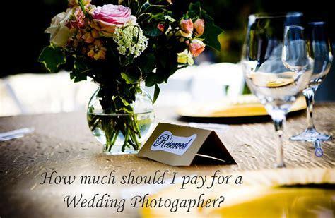 Wedding Photographer Pricing   How Much Do Wedding