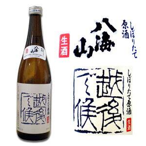 【定価より安い】酒処、新潟からお届け致します。【生酒】 八海山 「越後で候(えちごでそうろう...