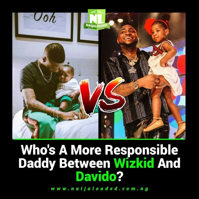 YOUR VIEW!! Between Wizkid & Davido – Who Is A More Responsible Father?