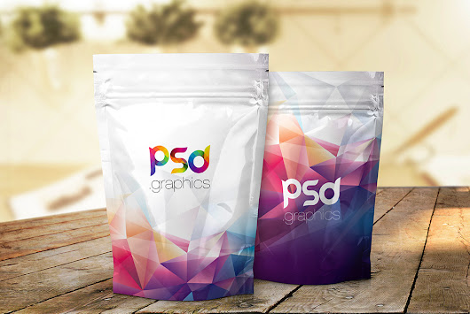 Foil Product Packaging Mockup PSD | PSD Graphics