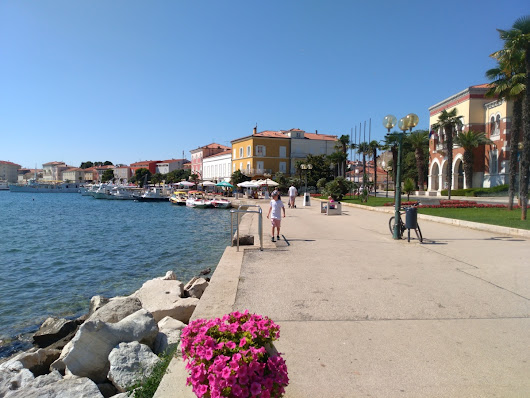 Postcard from Poreč, Croatia