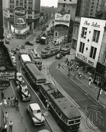 Peachtree & Forsyth 1945, Atlanta