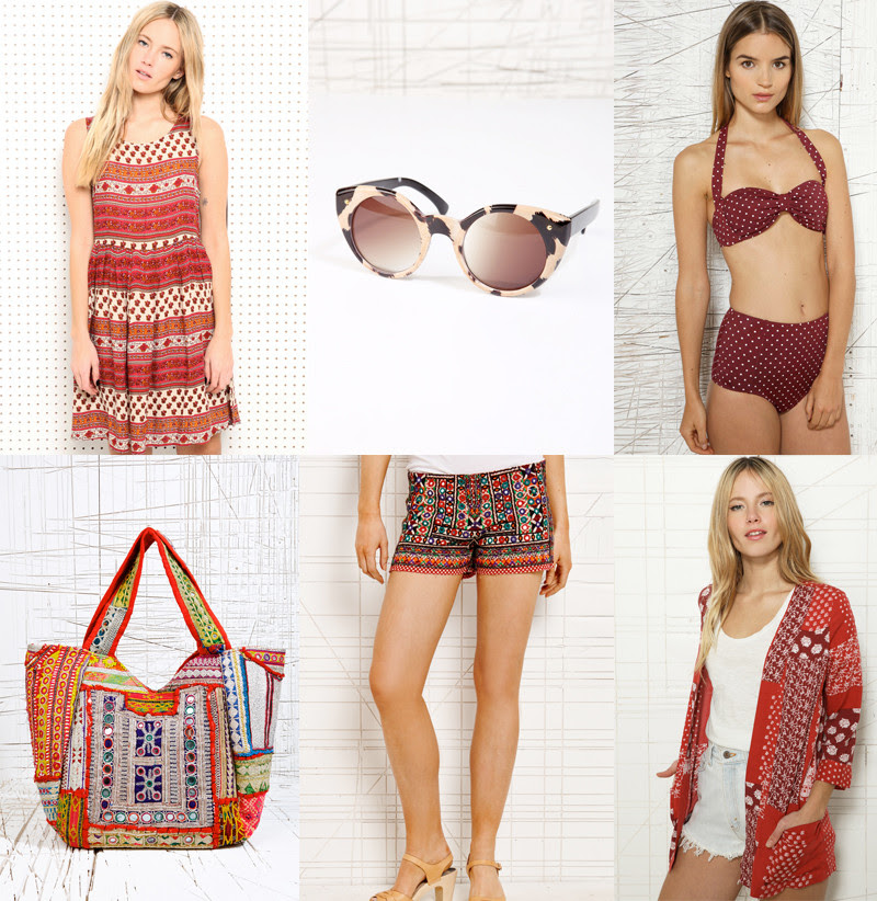Urban Outfitters Bohemian Holiday Wish List