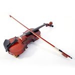 Glarry GV100 1/8 Size Child Acoustic Violin Solid Wood