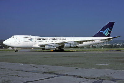 Garuda Indonesia Airways Boeing 747-2U3B PK-GSD (msn 22249) ZRH (Rolf Wallner). Image: 913546.