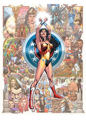 Phil Jimenez art in Wonder Woman #600