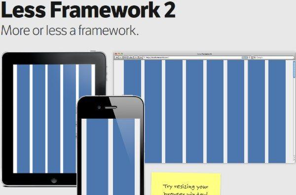 LessFramework Less Framework 2   Desarrollo web para todo tipo dispositivos incluídos los móviles