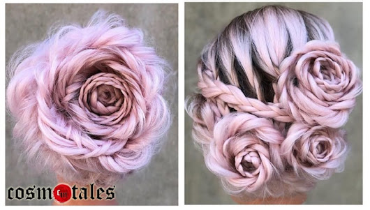 Drop Everything- This Braided Rose Hairstyle Is Beyond Gorgeous