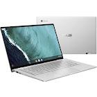 ASUS Flip C434TA DSM4T 14″ Convertible Chromebook - Core m3 M3-8100Y 1.1 GHz - 4 GB RAM - 64 GB SSD - Spangle Silver