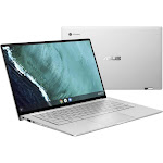ASUS Flip C434TA DSM4T 14″ Convertible Chromebook - Core m3 M3-8100Y 1.1 GHz - 4 GB RAM - 64 GB SSD - Spangle Silver