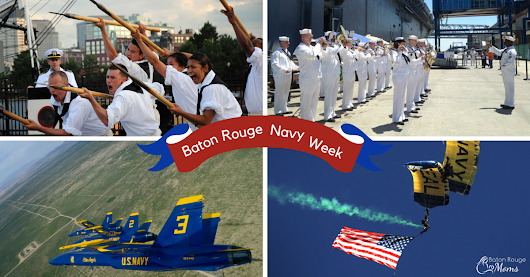 Navy Week sails into Baton Rouge