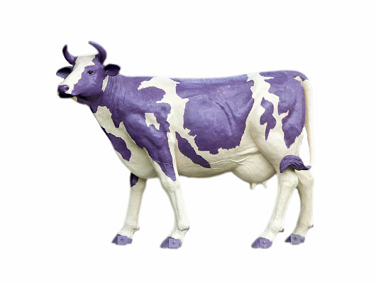 Stand out like a purple cow