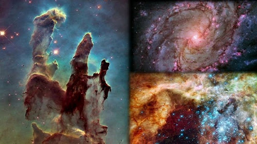 Hubble Telescope turns 25: See its greatest moments - BBC News