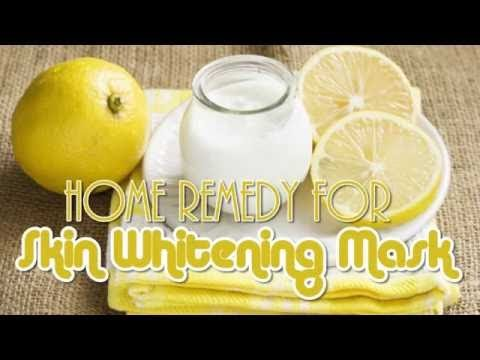 Natural home remedy for skin whitening