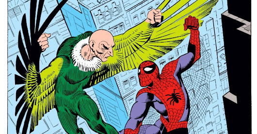 How the Vulture, Spider-Man's Early Enemy, Was Created by Two Squabbling Comics Giants