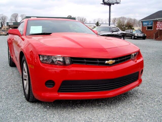 Used 2015 Chevrolet Camaro 2LS Coupe for Sale in Monroe NC 28110 Auto Track