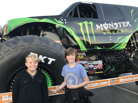 Making Monster Jam a Tradition | OC Mom Blog