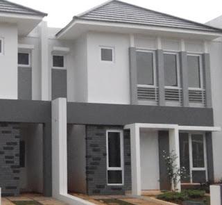 contoh warna cat pagar rumah minimalis