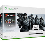 Microsoft Xbox One S - 1 TB - White - includes Gears 5