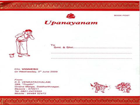 84 INFO UPANAYANAM INVITATION TEMPLATE IN ENGLISH PDF DOCX DOWNLOAD