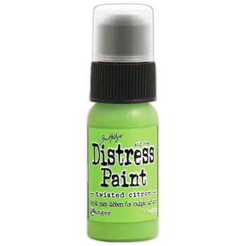 Tim Holtz Distress Paint TWISTED CITRON Ranger TDD43652