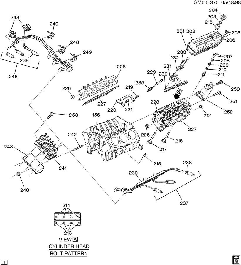 Chevy Impala 3800 V6 Engine Diagram Wiring Diagram General A General A Emilia Fise It