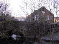 Barley Village Hall before anyone arrived