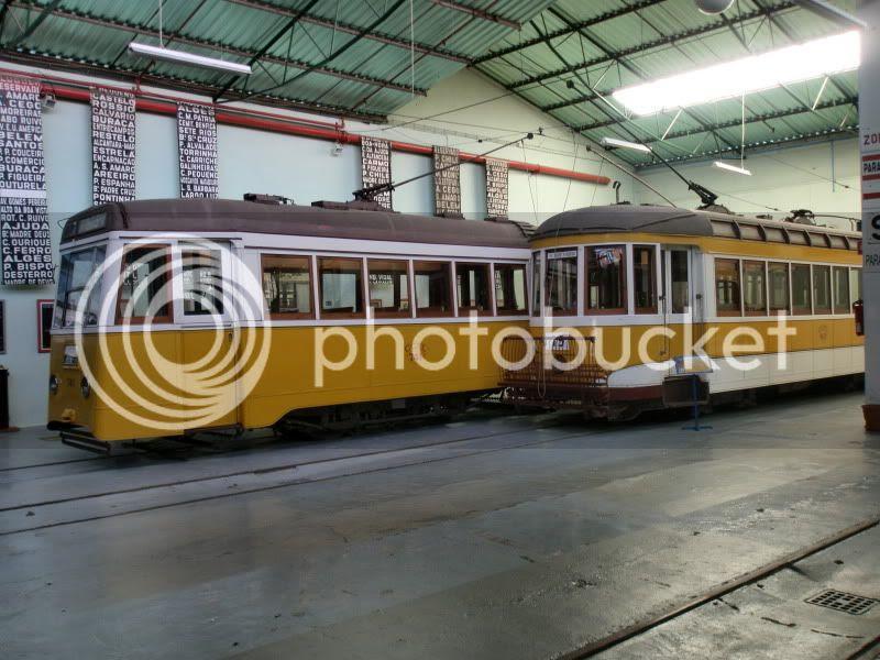 Un par de tranvías
