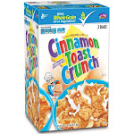 Cinnamon Toast Crunch Cereal - 2 bags, 49.5 oz