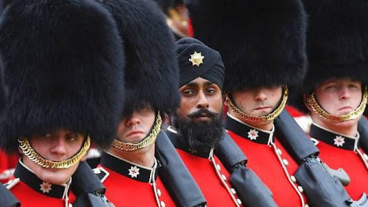 This guardsmen made history at the Queen's birthday parade | SikhNet